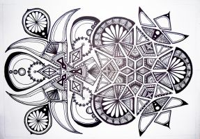 Zentangle by mariquack