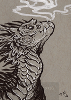 ACEO smaugust 6 by thedancingemu