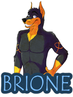 Brione badge by Echo-Shepherd