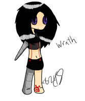 Chibi Wrath by CaittheCat