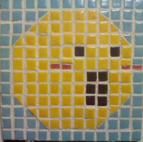 Smiley Tile by Ezekiel-Thrash