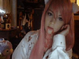 Lucy from Elfen Lied Gif ~ by Caram3llo