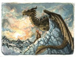 At the Throat of the World by Saph-y