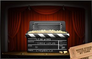 Movie Time Stack by turnpaper