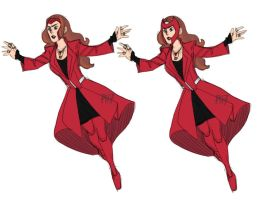 Scarlet Witch Redesign by pencilHead7
