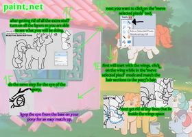 How to Use..... MLP Pony Base- Paint.Net Part 2 by TheYUO