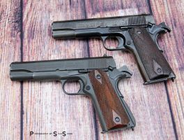 The 1911s by spaxspore