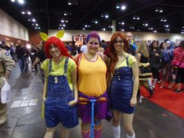 Megacon '13: Apple Blooms and Scootaloo by NaturesRose