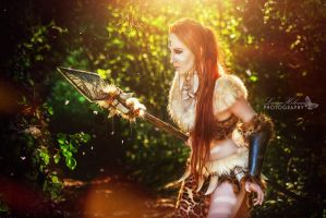 Nidalee Cosplay - League of Legends by emilyrosa