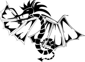 dragon... by leographics