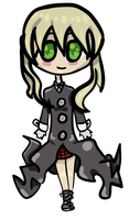 Maka Cute Transparent by LuckySoulStarEater