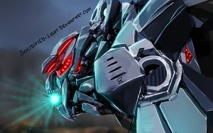 Mecha Charger (Daily Mech) by Solidified-Light