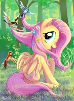 Animals are my friends by Adlynh