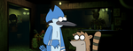 Mordecai and Rigby at Office from FNAF3 by ElMarcosLuckydel96
