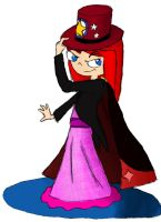 Rachel's Magician Outfit by RedJoey1992