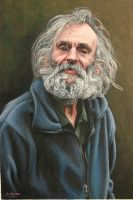 Portrait of Decker Mick by NewAgeTraveller