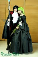 CC and lelouch by kyriee