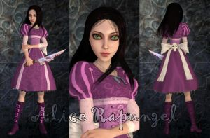 Alice Rapunzel game mod by Brusya