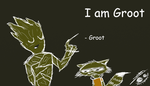 I am Groot by jaredraws