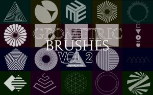 +Geometric Brushes | 2 by ISatQuietly