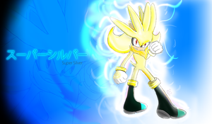 Super Silver Wallpaper by ShadowReaper12