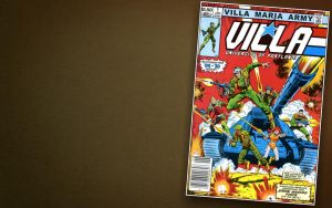 V.M. ARMY comic cover - wide by tuanews