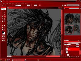 Alucard Profile Collage Preview 6.5 by vendixnosferatu
