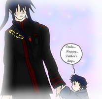 Kanda and Katsuo- Happy Father's Day by albertxlailaxx