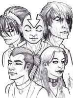 Avatar Group by Drawingremy
