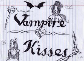 +Vampire Kisses+ by MoonlightIllusionist