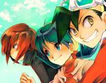 Johto friends by Luppia