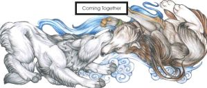 Coming Together by wielderofthewind