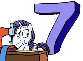 Season 2 COUNTDOWN: Rarity by Closer-To-The-Sun
