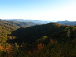 Great Smoky Mountains 2 by abuseofstock