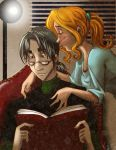 Severus reads by bunnimation