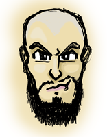 CM Punk Face by the-JACKANAPES
