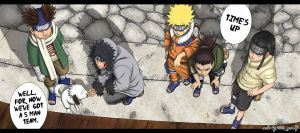 Naruto old team by TitegonZ