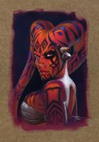 Darth Talon Portrait by imaginante