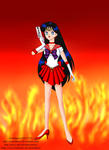 Sailor Mars by Avantharis
