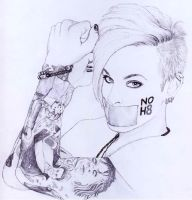 Tommy Joe Ratliff NOH8 by b3xy88