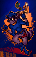 Thievius Raccoon - Sly Cooper by Austin-Hodge