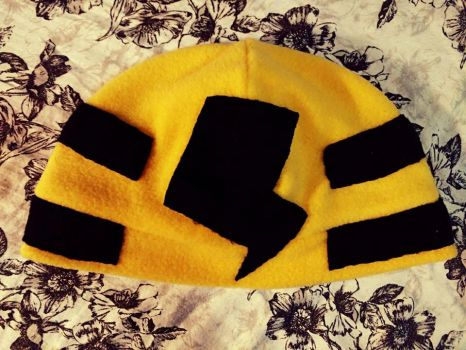 Elekid Themed Hat by Jacqueline-Victoria