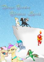 Dragon evolution christmas special Cover by HeroHeart001