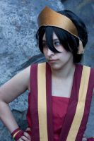 Fire Nation Toph by Starlla