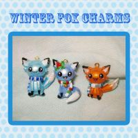 Foxy Fox Charms by stariearth