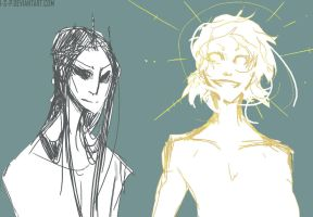 Brother Gods by i-s-p