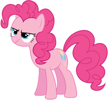 Un-amused Pinkie Pie by Yanoda
