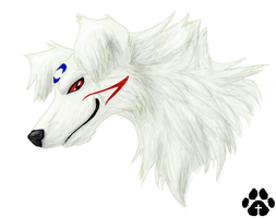 Sesshomaru Dog by CliffeArts
