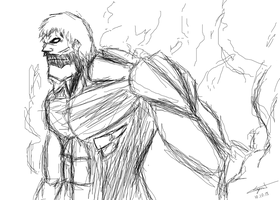 Armored Titan Quick Sketch by cyril002