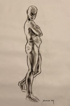 Life Drawing 9 by nictey